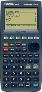 Kalkulator Casio ALGEBRA FX 2.0 PLUS