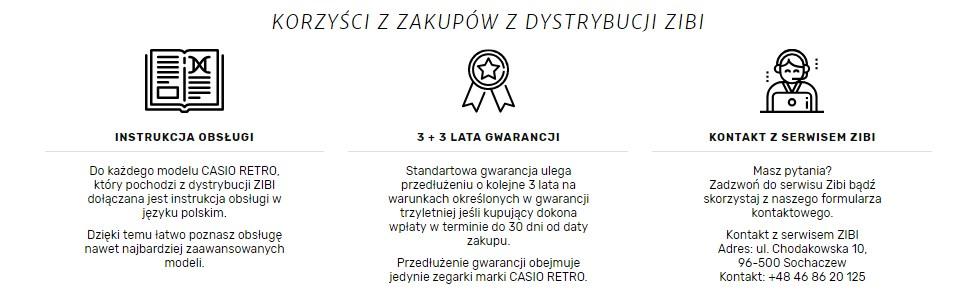 Jesteśmy oficjalnym dystrybutorem marki CASIO