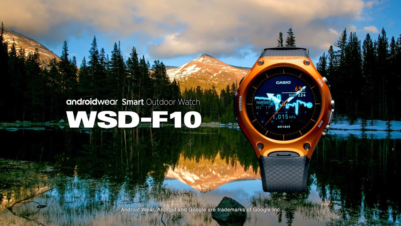 Pierwszy Smartwatch CASIO - WSD-F10 Smart Outdoor Watch